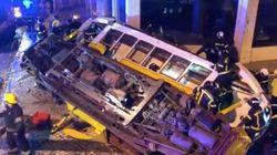 Un tramway déraille à Lisbonne, 28
