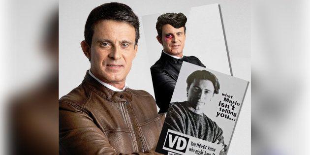 Cette photo de campagne de Manuel Valls vaut le