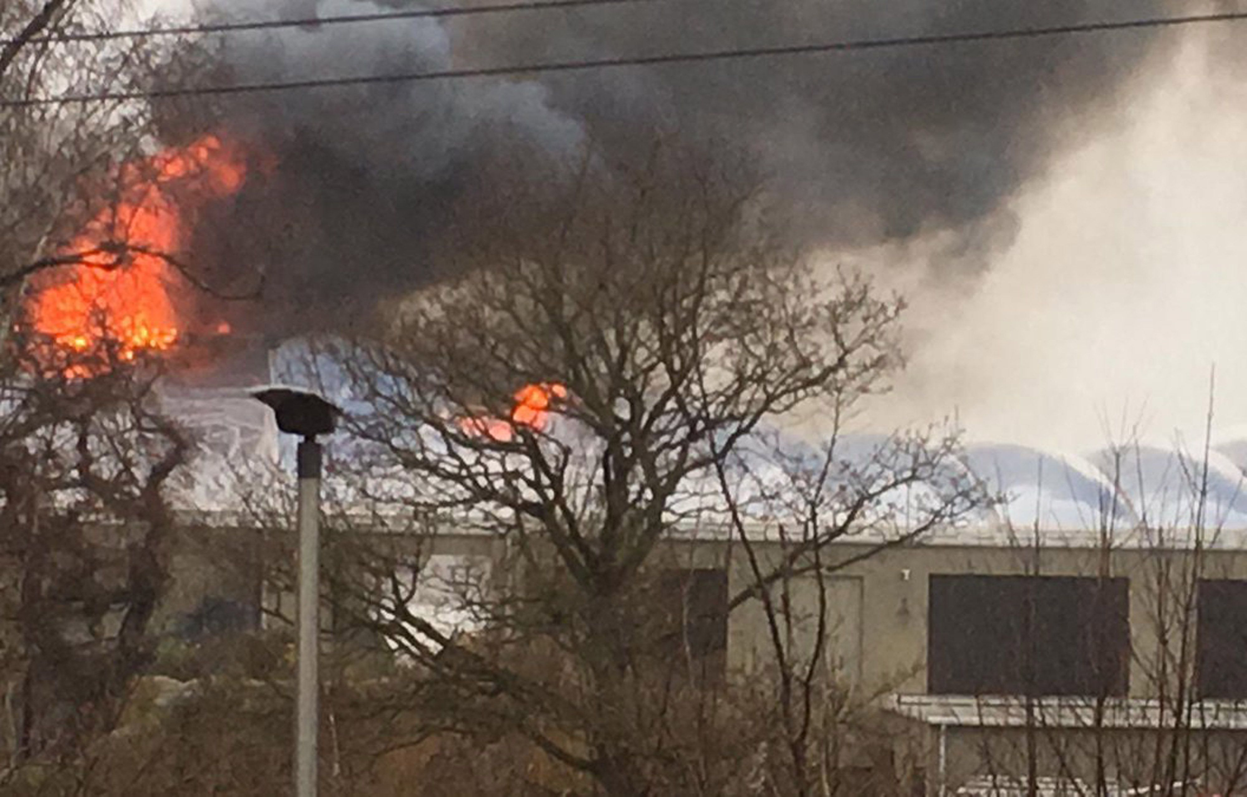 Chester Zoo: Attraction Closed And Visitors Evacuated After Large Fire Breaks