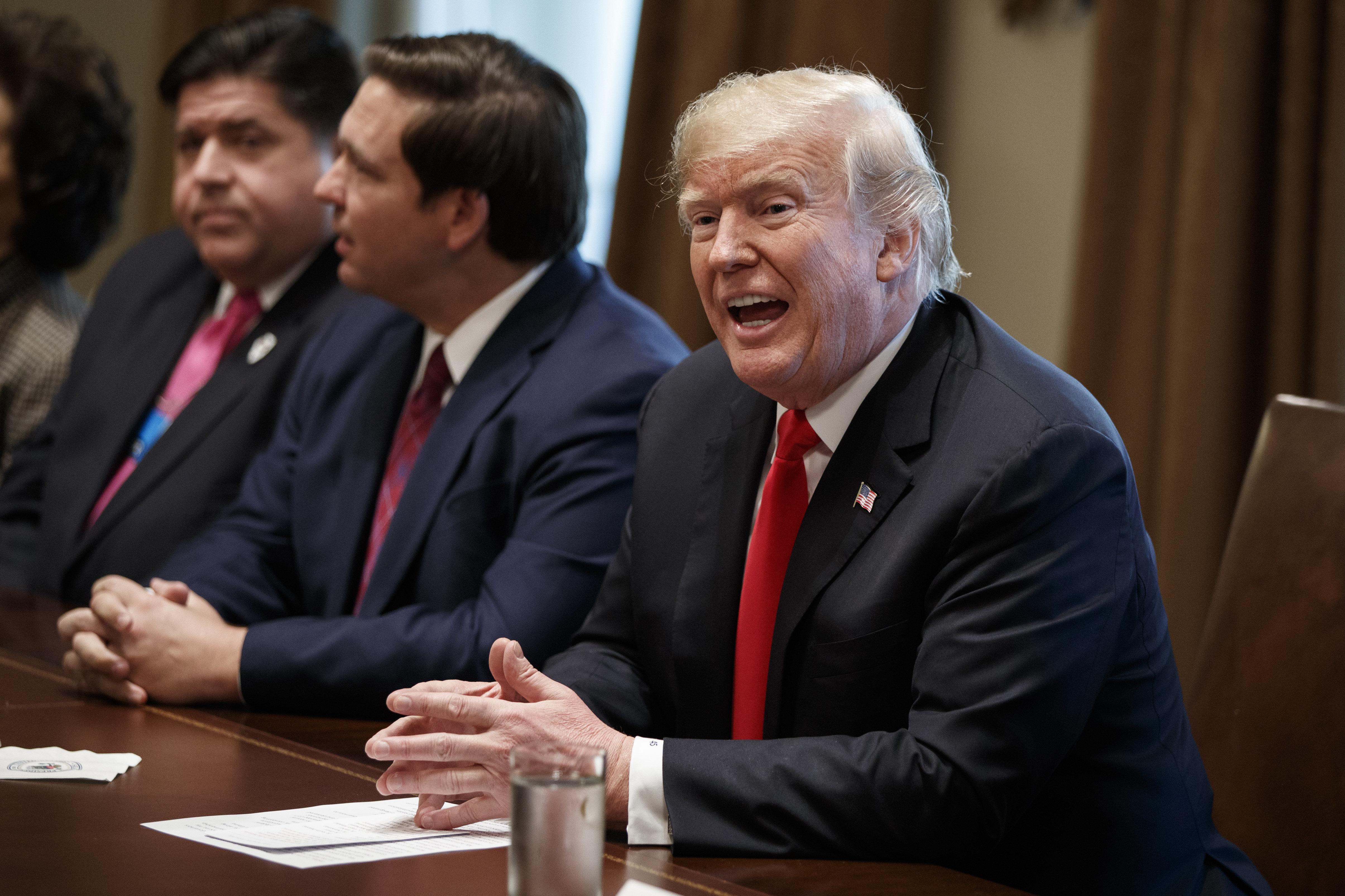 Trump kündigt auf Twitter Rücktritt von US-Innenminister Ryan Zinke an