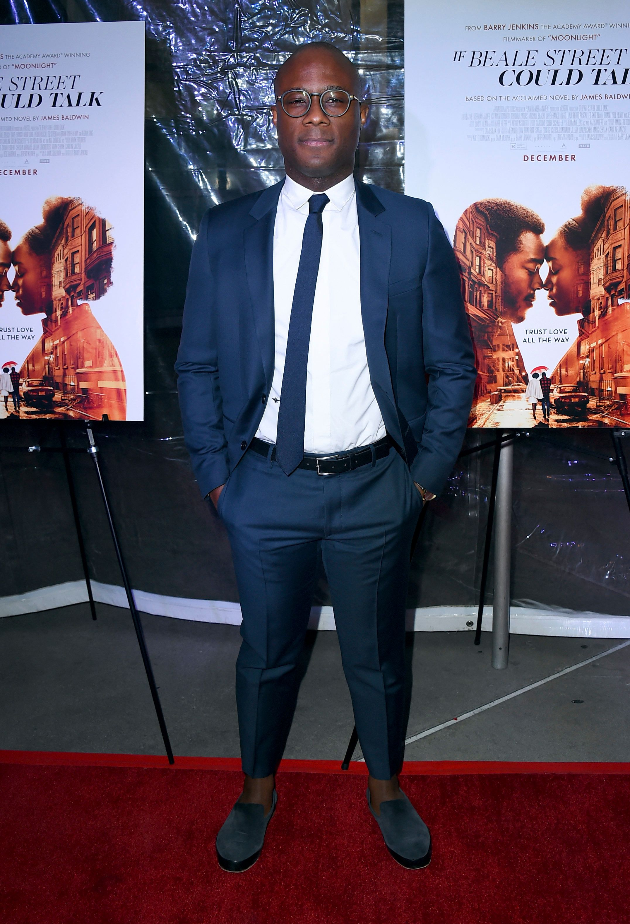 """Barry Jenkins arrives at a special screening of """"If Beale Street Could Talk"""" at ArcLight Hollywood on Tuesday, Dec. 4, 2018, in Los Angeles. (Photo by Jordan Strauss/Invision/AP)"""
