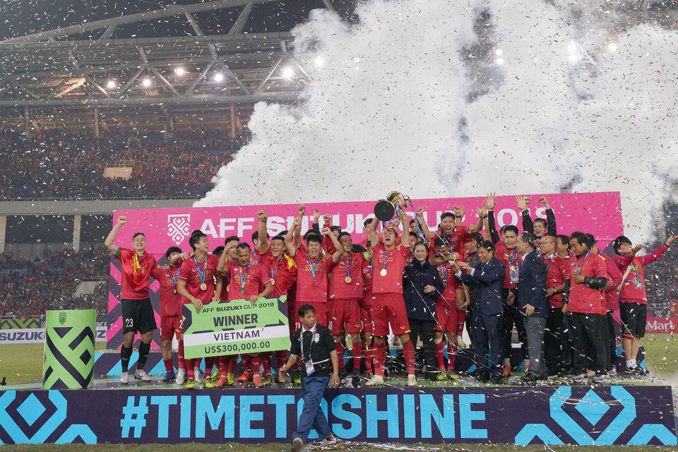 박항서호의 스즈키컵 우승을 만끽한 하노이 사람들의