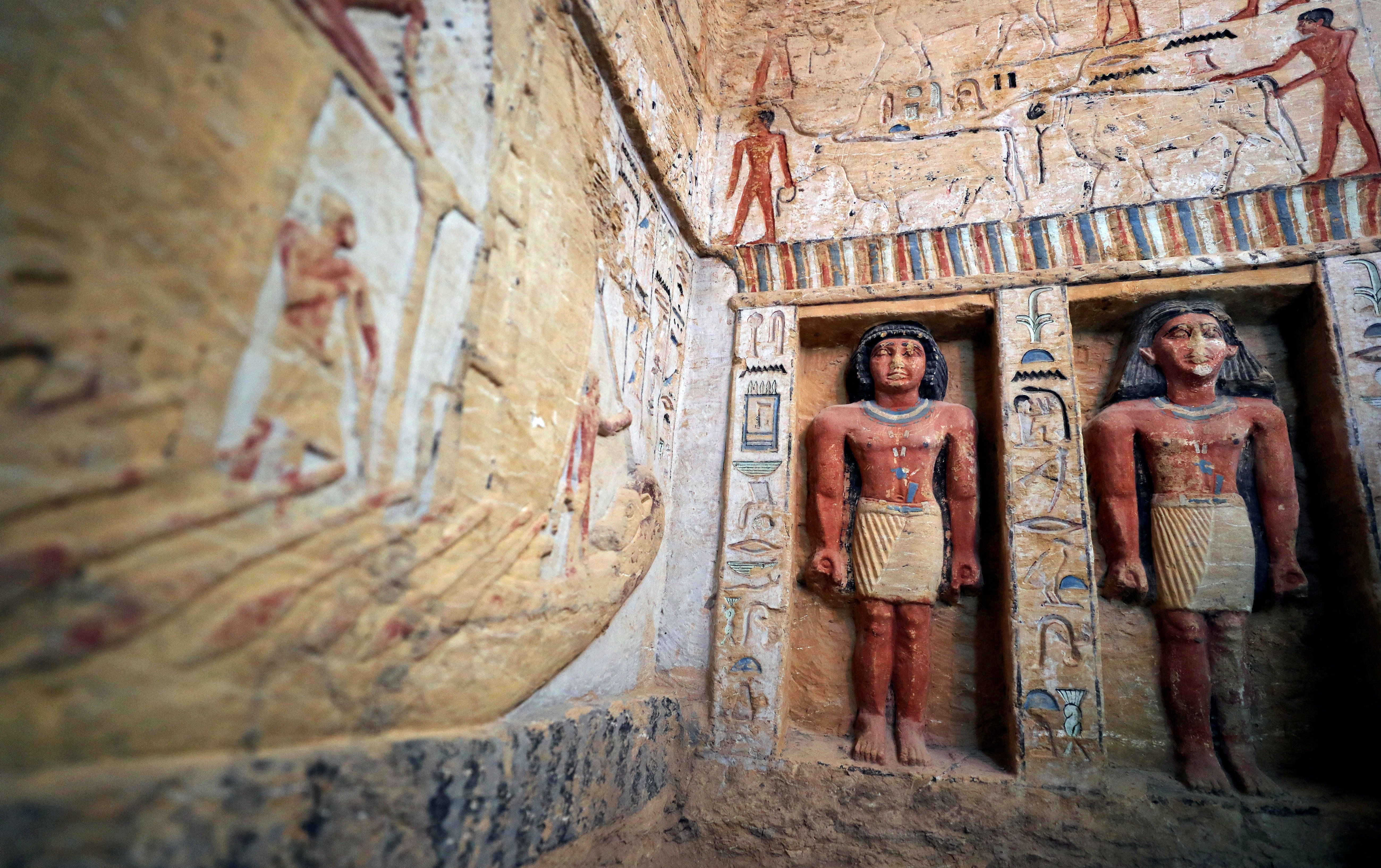 Ancient 'One Of A Kind' Tomb Unveiled In Egypt: PHOTOS