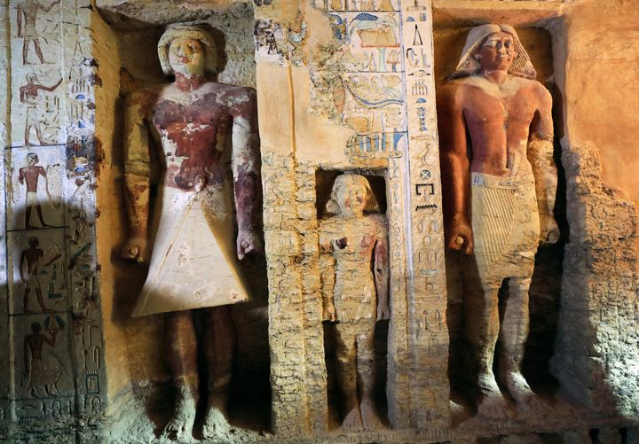 Egypt has revealed over a dozen ancient            discoveries this year.
