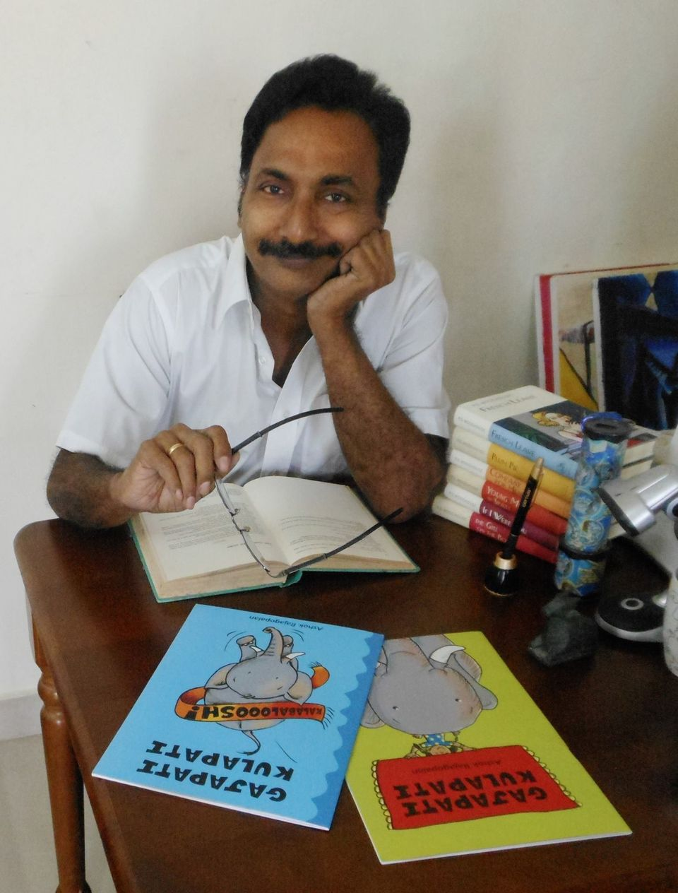 Meet The Creator Of The Children's Series 'Gajapati