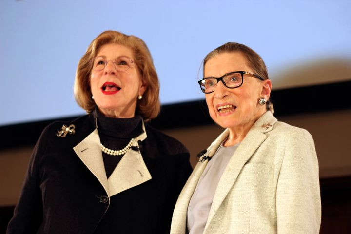 Nina Totenberg interviewed Justice Ruth Bader Ginsburg on Saturday night in New York.