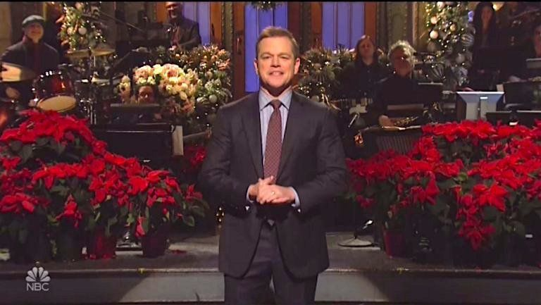 Matt Damon honors 'Saturday Night Live' with an emotional tribute