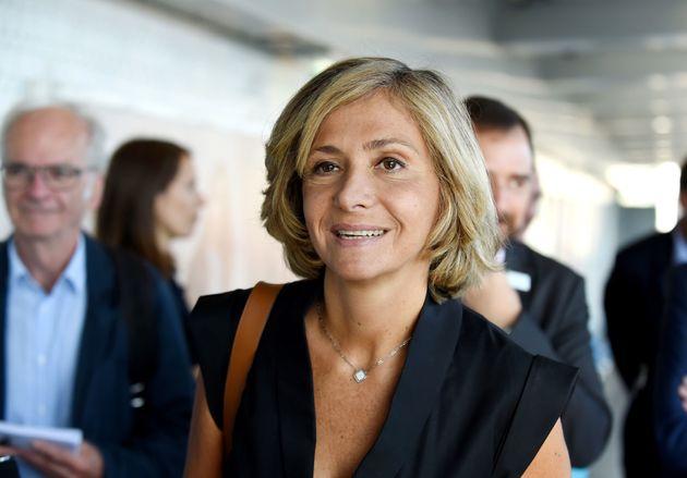 Valérie Pécresse, Présidente du conseil régional d'Île-de-France, en visite en