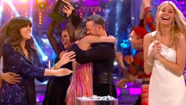 CONGRATS: Karen Clifton Congratulating Estranged Husband Kevin On His 'Strictly' Win Left Us All In