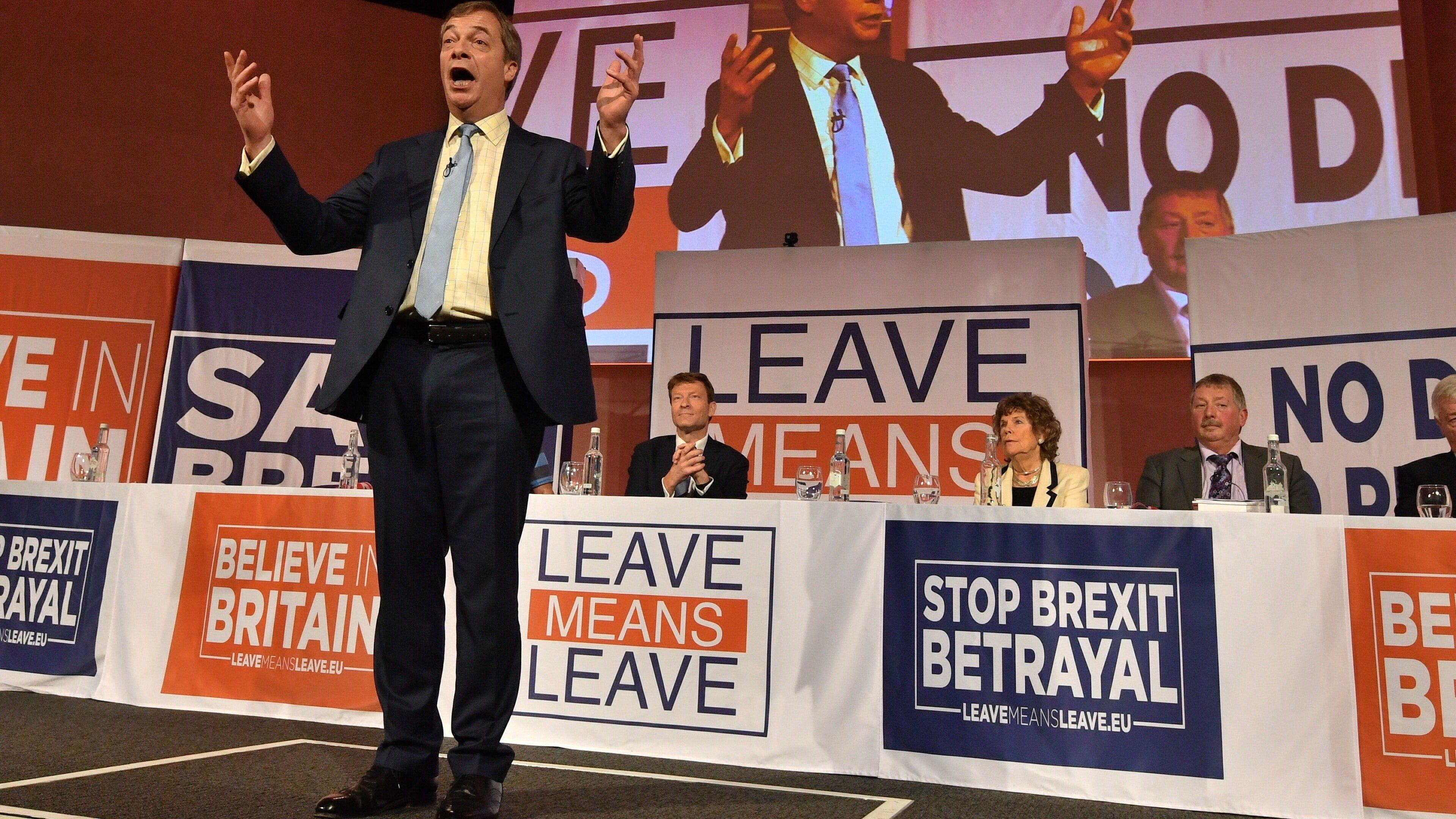 Nigel Farage Tells Brexit Campaigners To 'Get Ready' For A Second