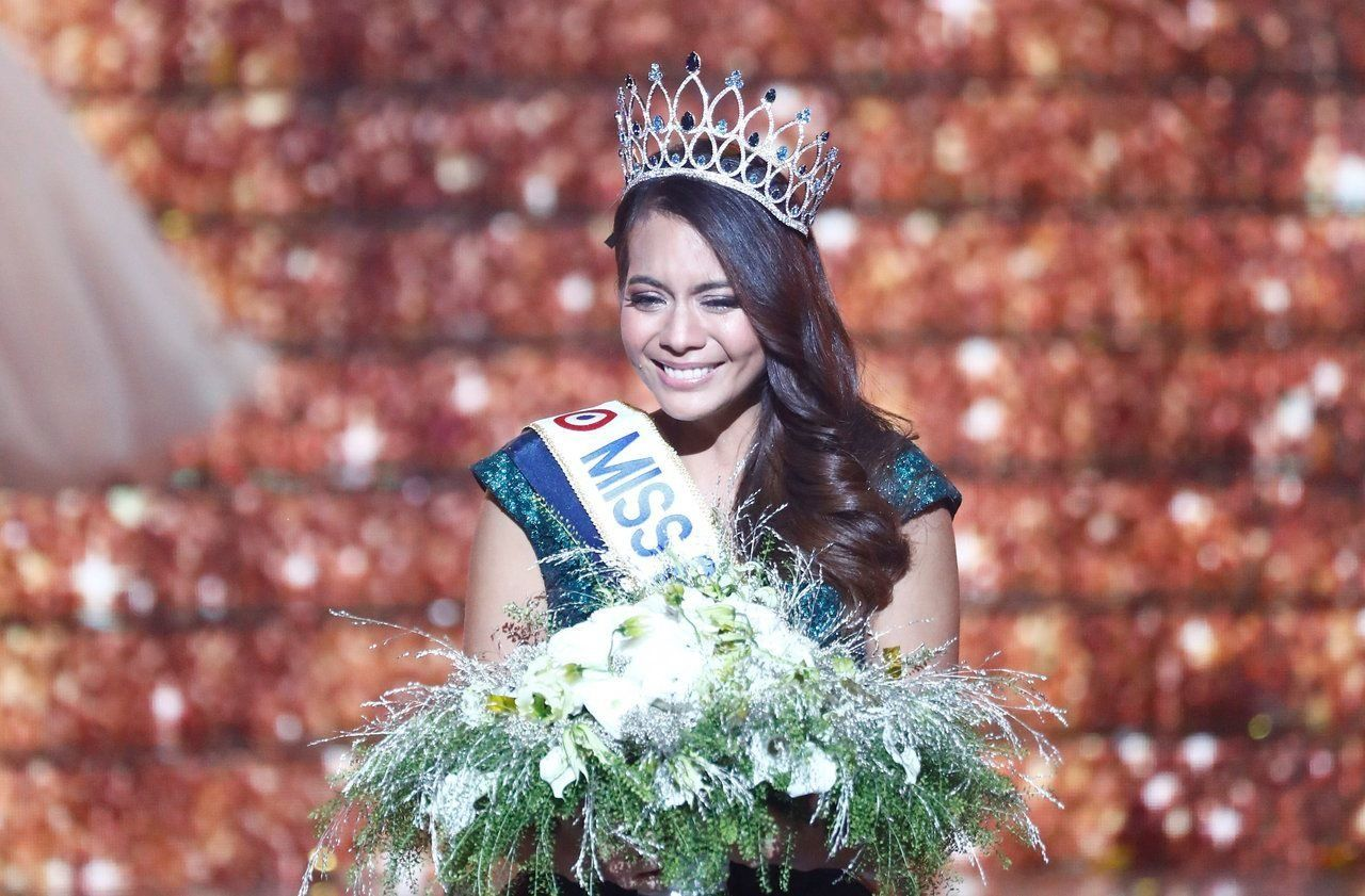 Vaimalama Chaves, miss Tahiti, élue Miss France