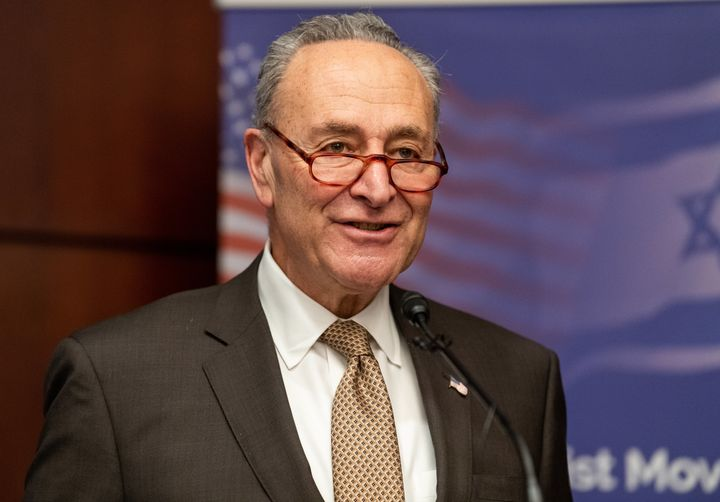 Senate Minority Leader Chuck Schumer (D-N.Y.) is urging Congress to say Friday's Affordable Care Act ruling should be ov