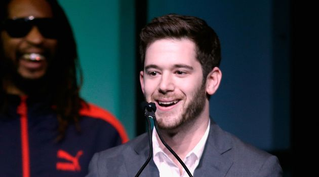Colin Kroll, seen accepting the Breakthrough Award for Emerging Technology from rapper Lil Jon in 2014,...