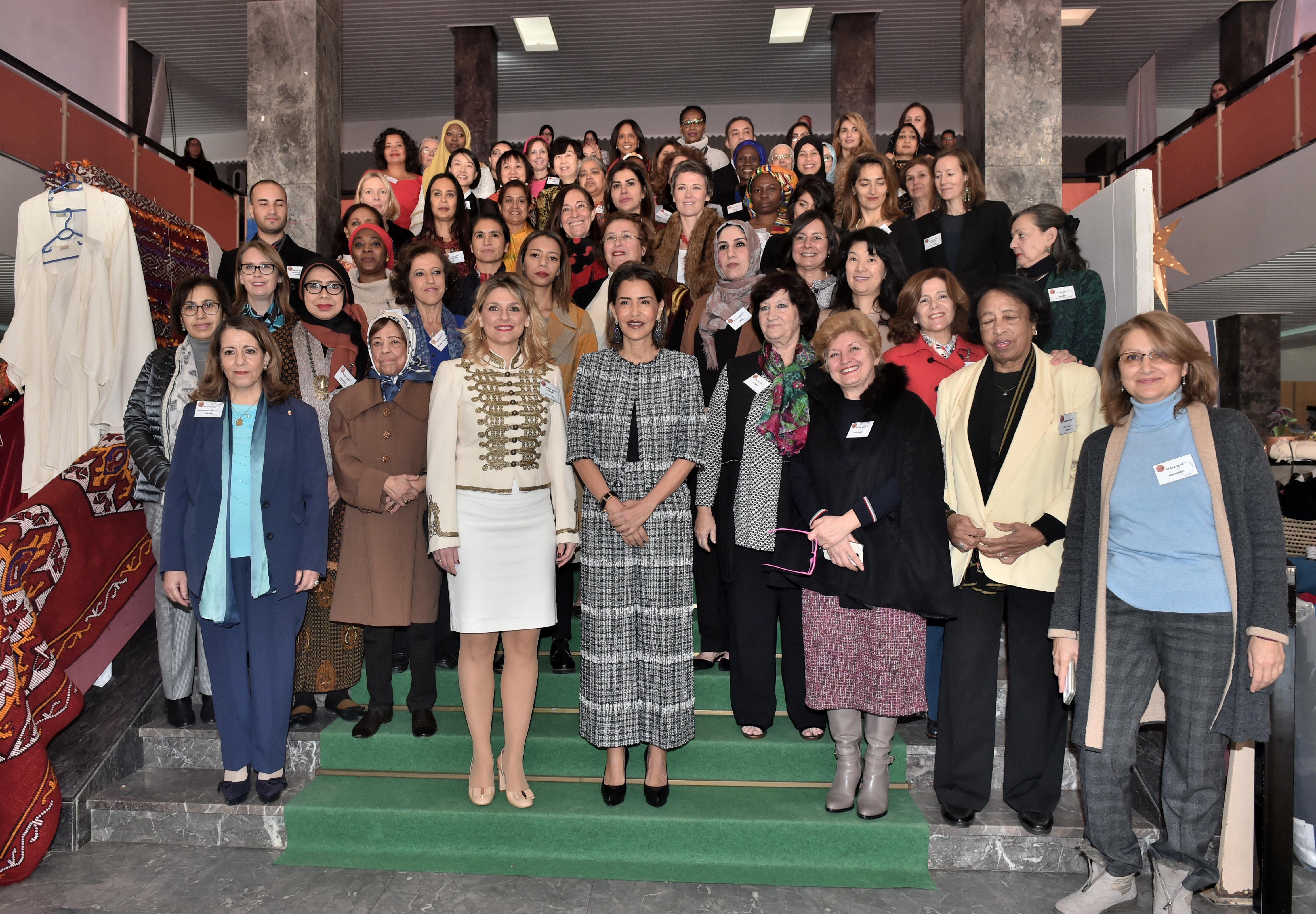 Rabat: Lalla Meryem inaugure le Bazar international de bienfaisance du Cercle