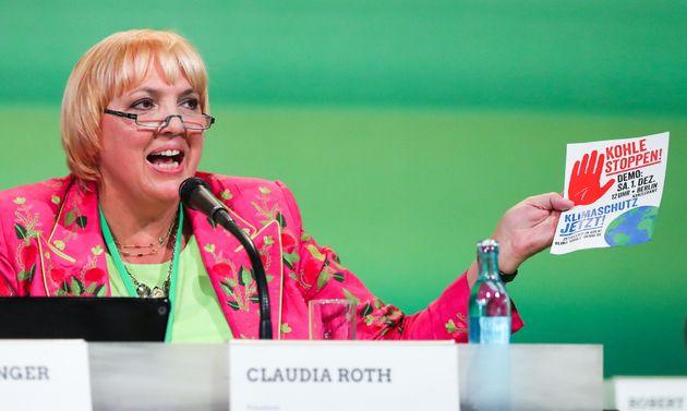 Grünen-Politikerin Claudia Roth.