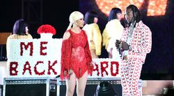 Offset Crashes Cardi B's Set Asking Her To Take Him