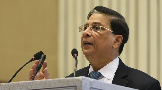 A file photo of former CJI Dipak
