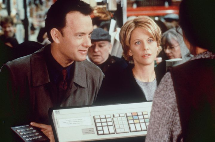 "Tom Hanks and Meg Ryan in ""You've Got Mail."""