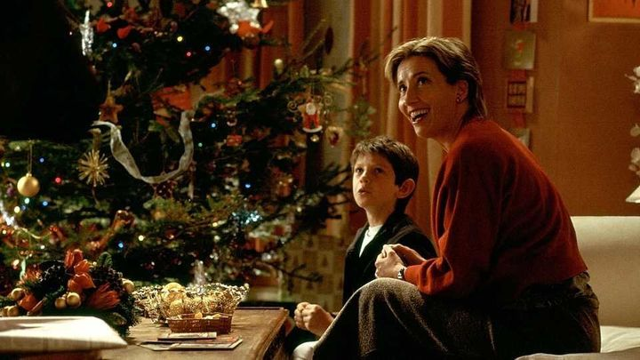 "Emma Thompson in ""Love Actually."""