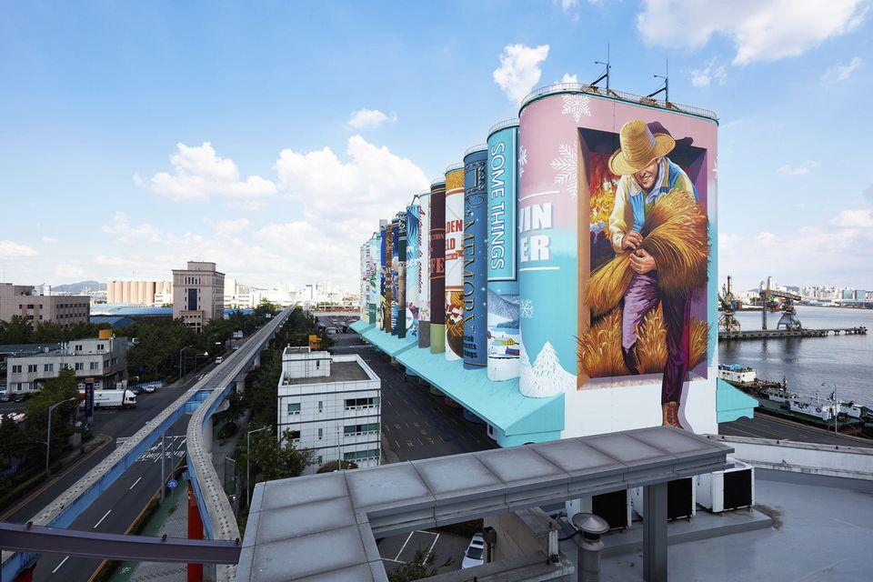 인천에 가면 '세계에서 가장 큰 야외벽화'를 볼 수
