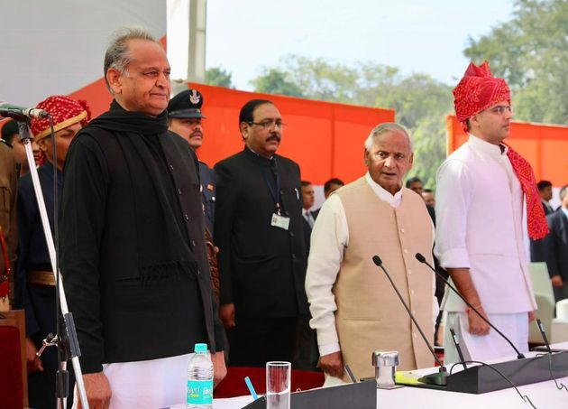 Ashok Gehlot Sworn-In As Chief Minister Of