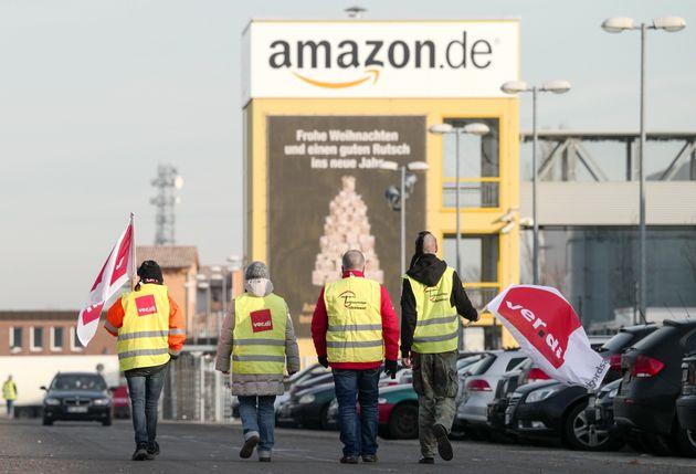 Streik bei Amazon: Jetzt sind die Weihnachtsgeschenke in