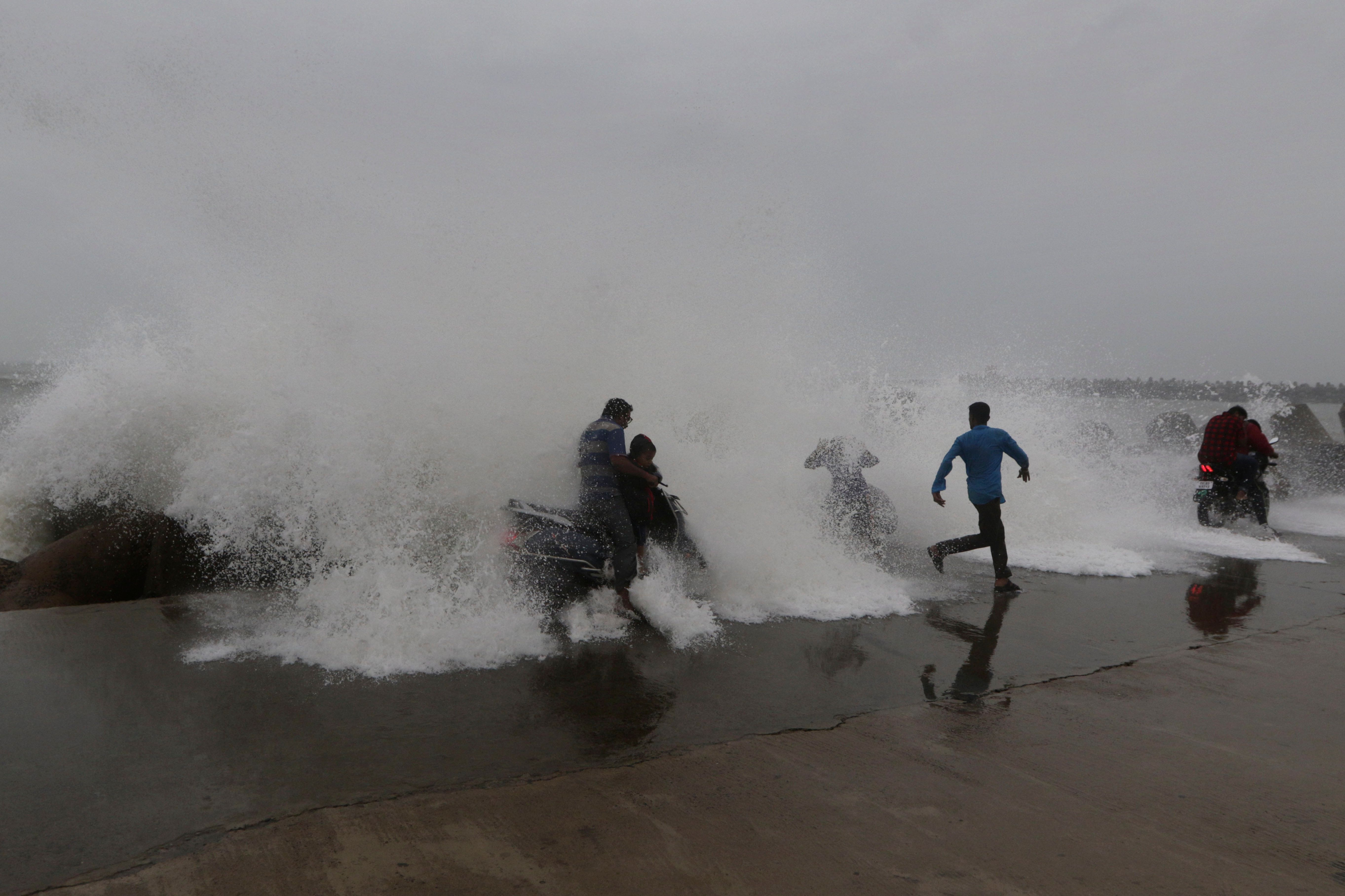 Cyclone Phethai Barrels Through Andhra Pradesh, One