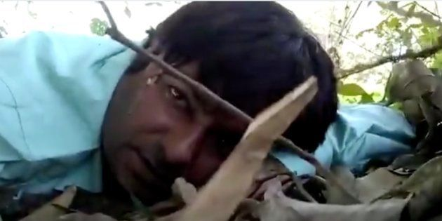 A screenshot of a video uploaded by Mormukut Sharma from the scene of the
