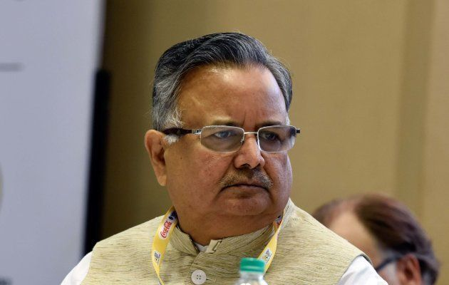 NEW DELHI, INDIA - NOVEMBER 3: Chhattisgarh Chief Minister Raman Singh during the inauguration of World...
