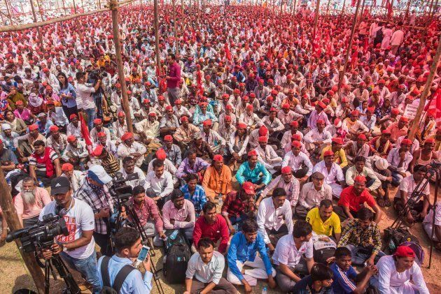 In March, thousands of farmers marched from Nashik to Mumbai to demand loan waivers and implementation...