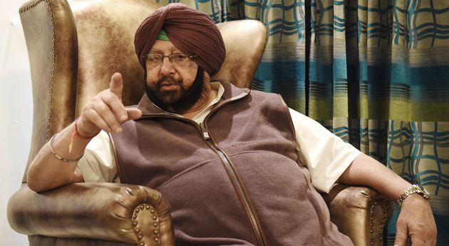 A file photo of Amarinder