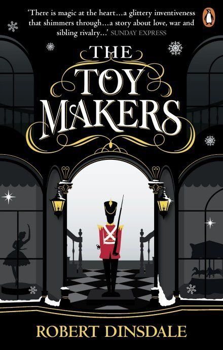 Birds roost on paper trees in the magical 'The Toymakers'.