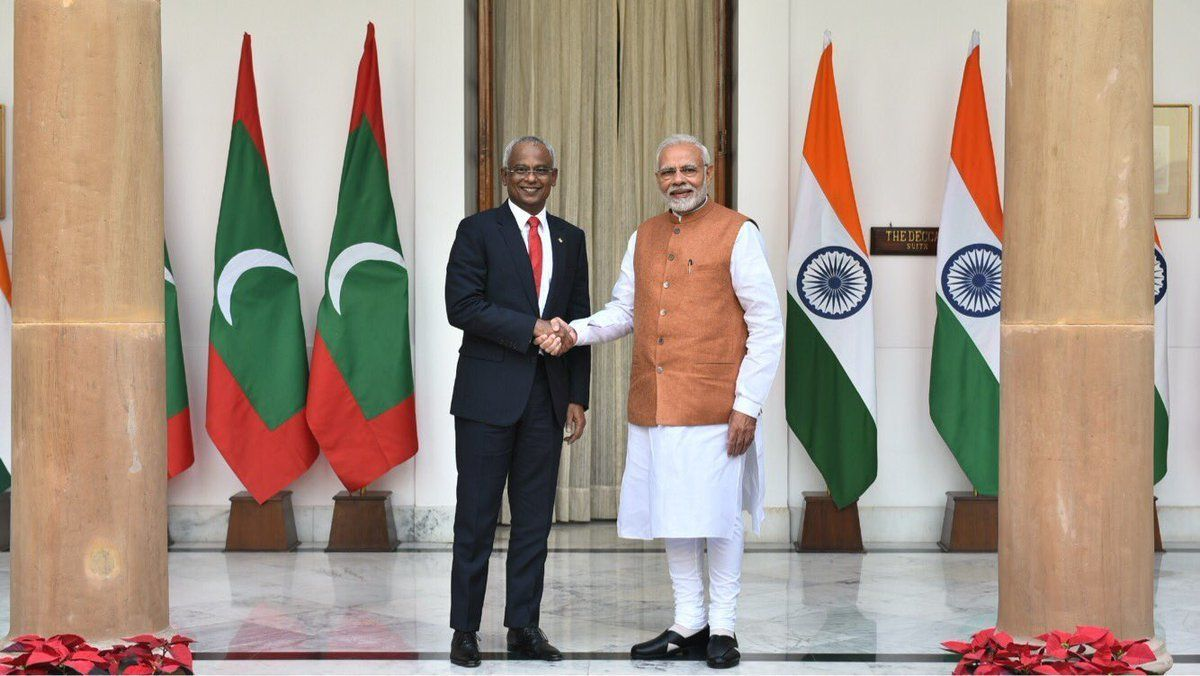 India Extends $1.4 Billion Aid To Maldives Amid Worry Over Its China