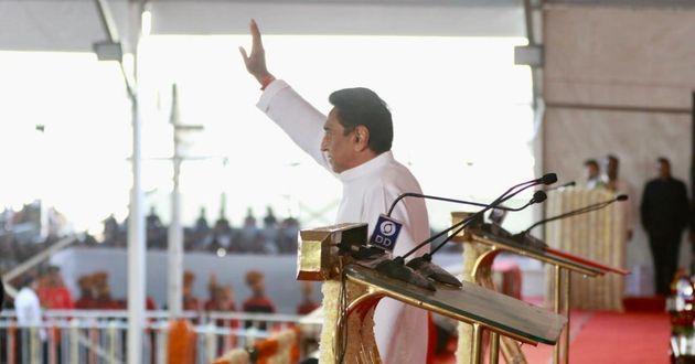 Kamal Nath Takes Oath As Madhya Pradesh Chief