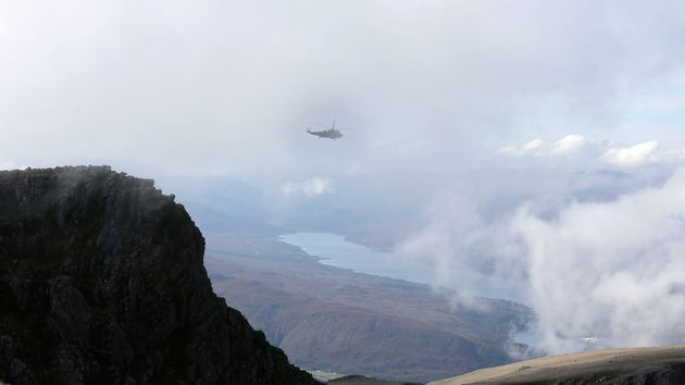 A young man has died following a fall on Ben