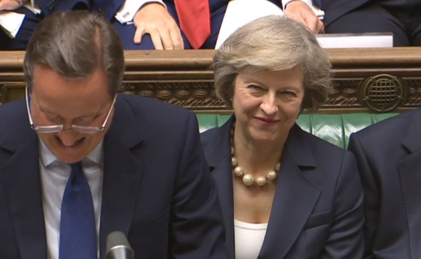 David Cameron Is 'Advising' Theresa May On Brexit And People Have Ideas About How That's