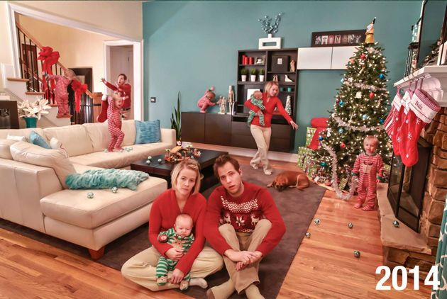 Jonathan Stanley's family prefers to send funny holiday cards over the seemingly picture-perfect