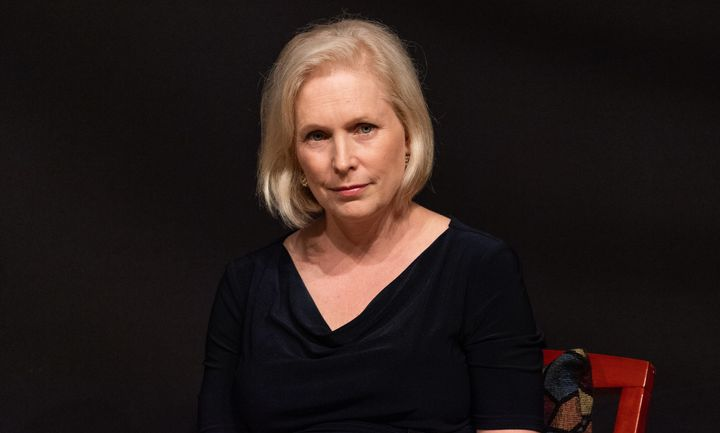 U.S. Senator Kirsten Gillibrand (D-NY) at a town hall meeting at The Riverside Church in Morningside Heights in New Yor