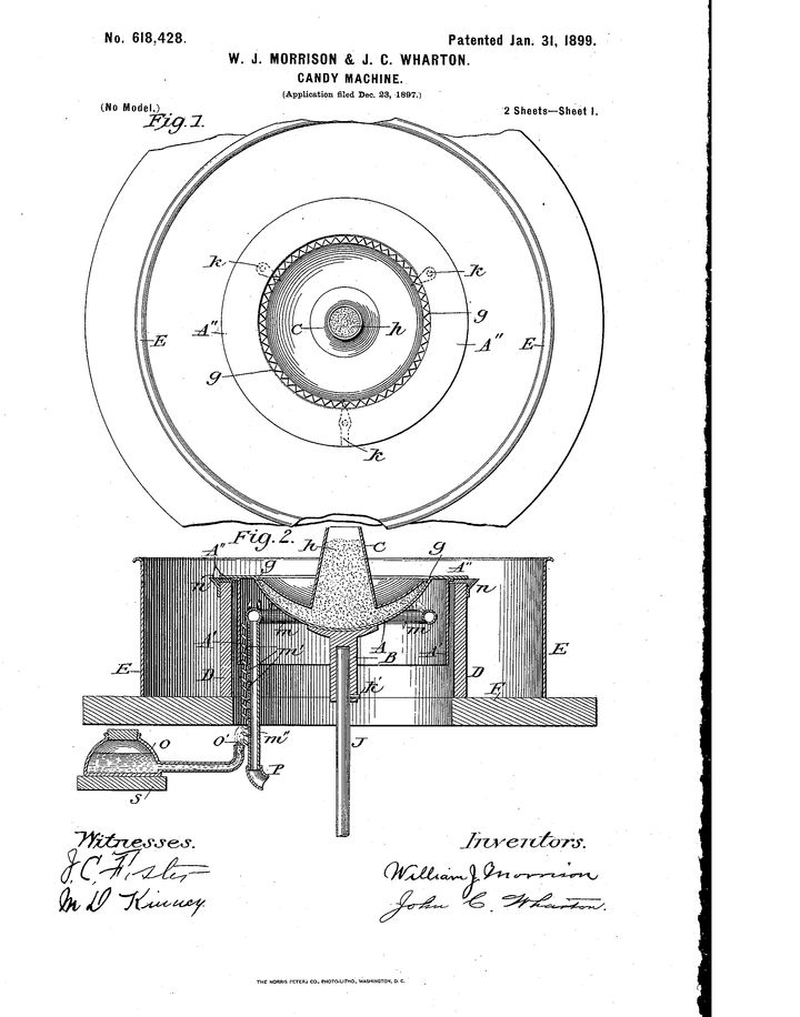 Morrison and Wharton's 1899 patent.