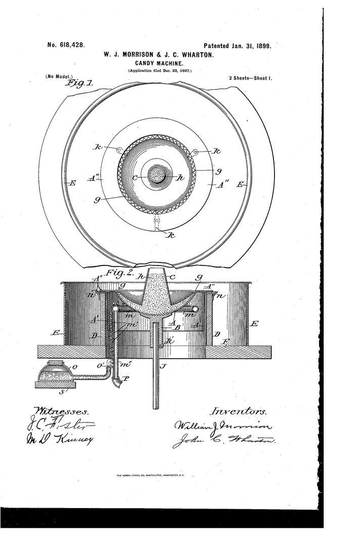 Morrison and Wharton's 1899 patent.