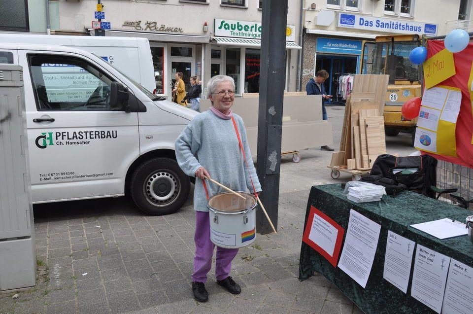Ursula Mathern setzt sich für Hartz-IV-Empfänger ein.