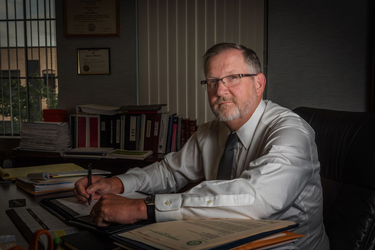 Dr. Michael Kilkenny, physician director for the Cabell-Huntington Health Department in West Virginia, has decried cuts to public health funding for years.