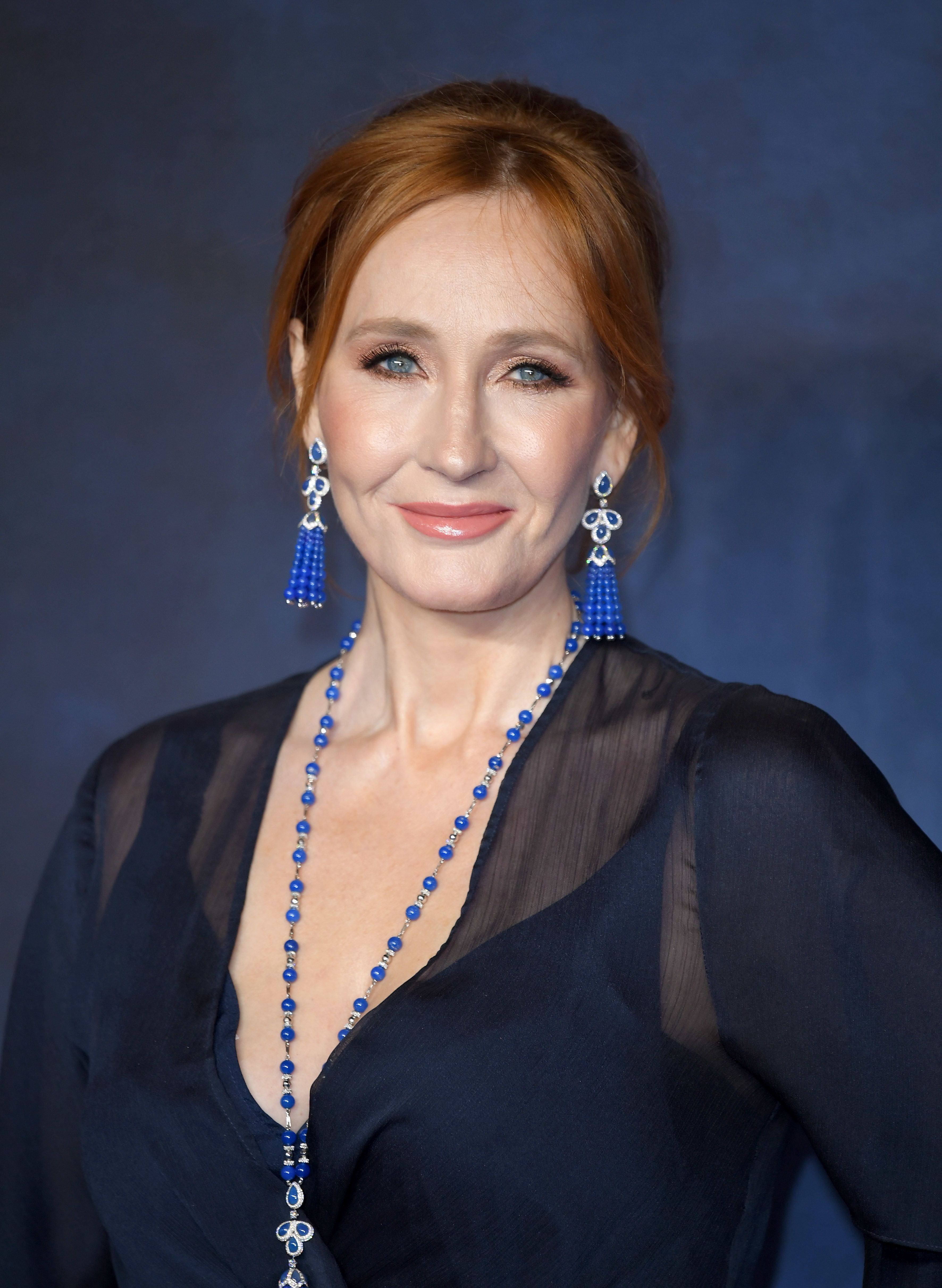 LONDON, ENGLAND - NOVEMBER 13:  J. K. Rowling attends the UK Premiere of 'Fantastic Beasts: The Crimes Of Grindelwald' at Cineworld Leicester Square on November 13, 2018 in London, England.  (Photo by Karwai Tang/WireImage)