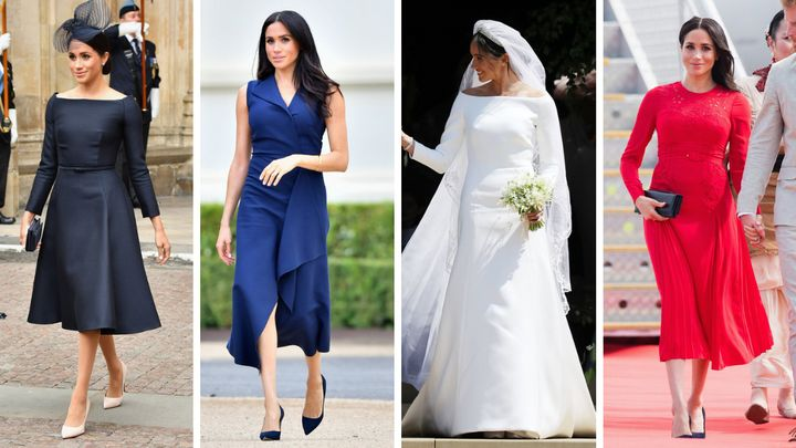 The Duchess of Sussex had a number of high-profile fashion moments in 2018.