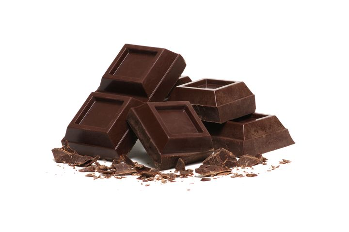 Palm oil helps give chocolate a smooth and shiny appearance.