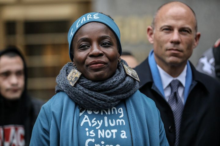 "Therese ""Patricia"" Okoumou was represented on Monday in part by attorney Michael Avenatii."