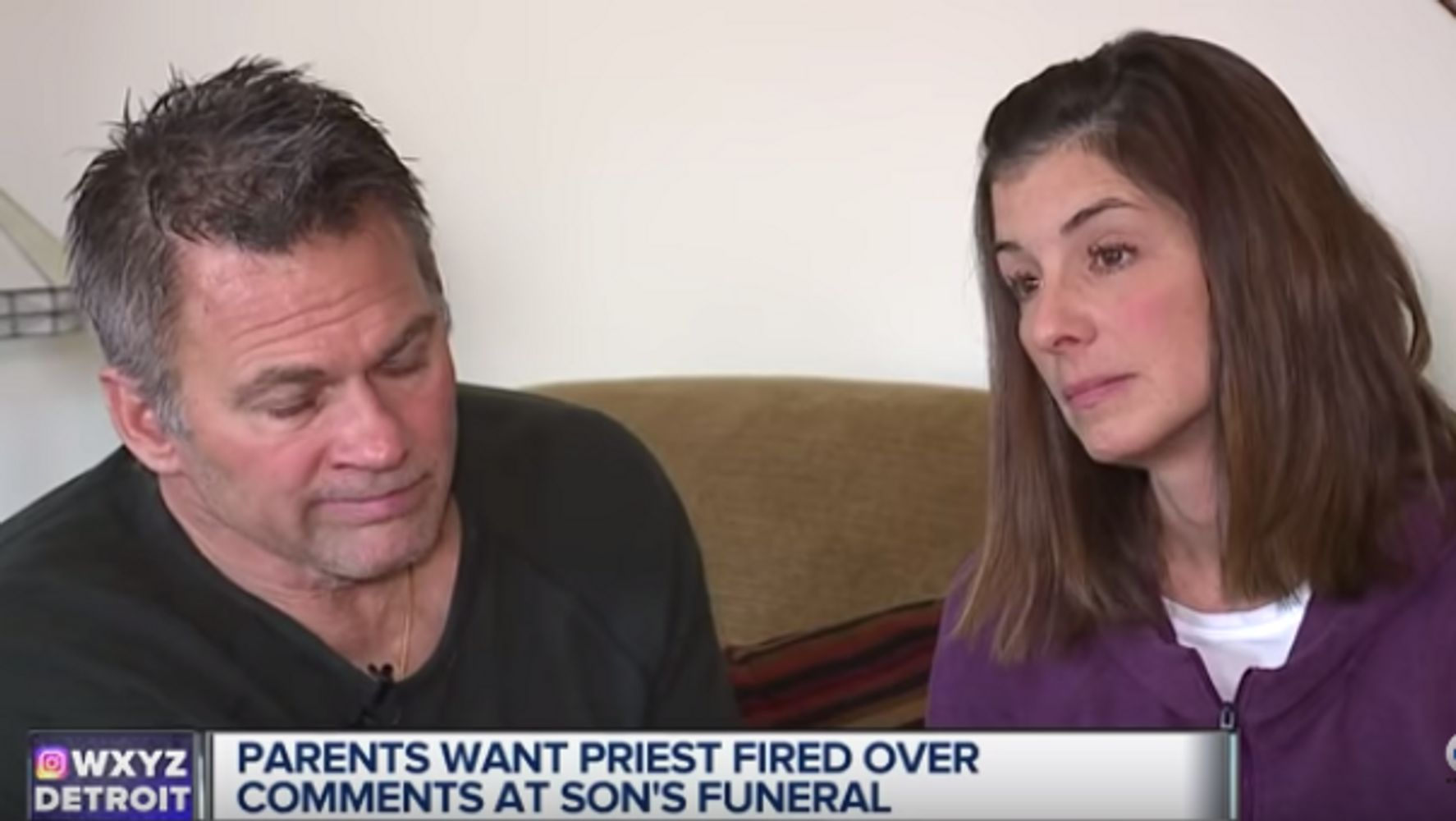 Priest Is Banned From Presiding At Funerals After