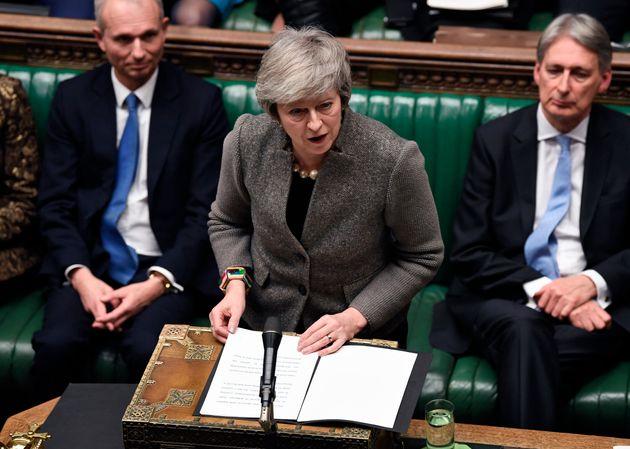 영국 메이 총리가 브렉시트 의회 인준투표 날짜를