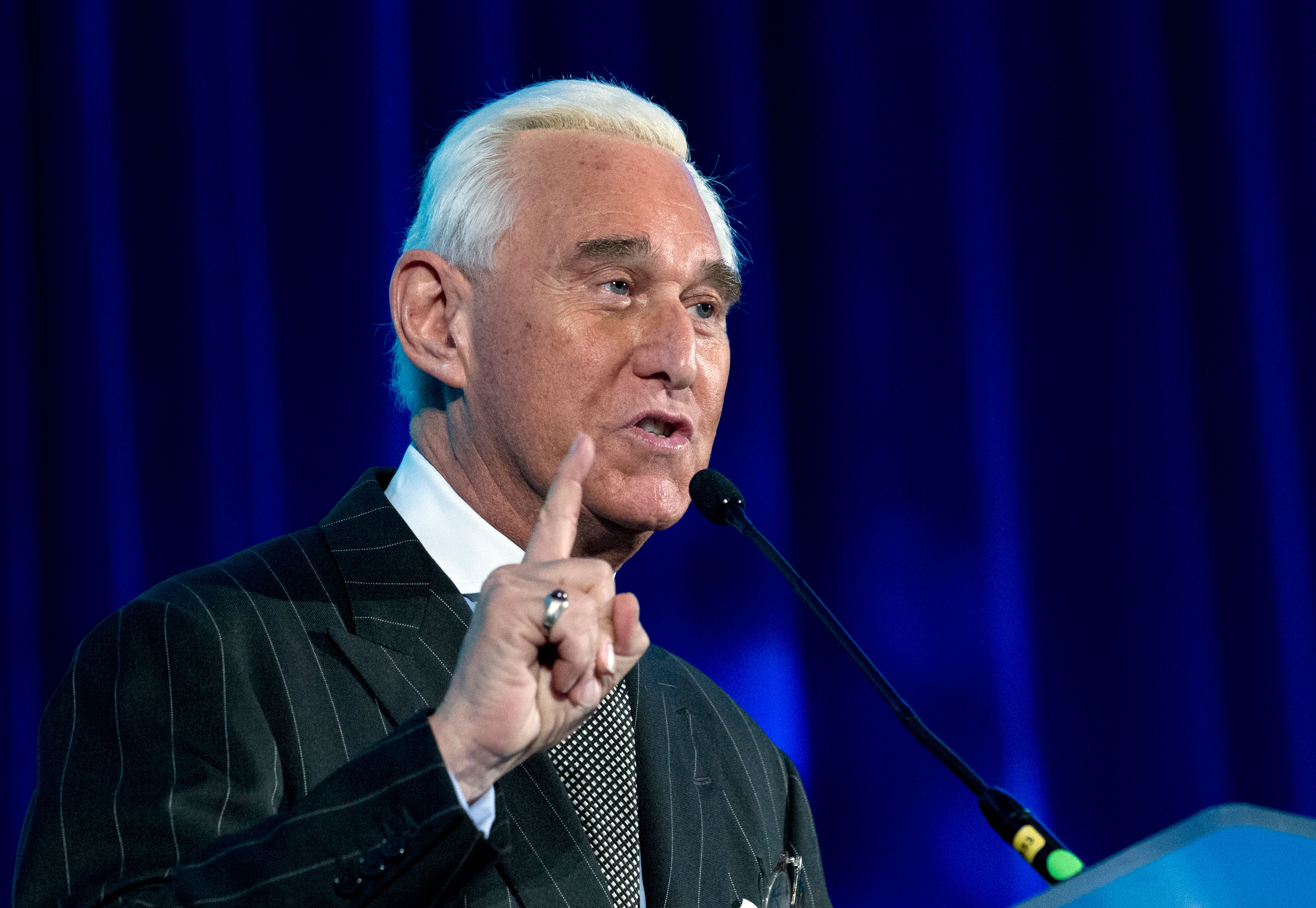 Roger Stone Admits To Lying On Infowars, Must Publicly