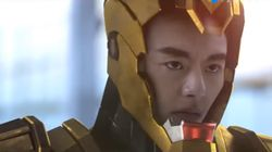 중국에서 짝퉁 '아이언맨' 영화가